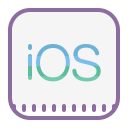 Logo de iOS icon