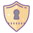 Keyhole Shield icon