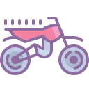 Motorcycle Outline icon