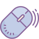 Computer Mouse Outline icon