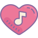 Music Heart icon