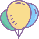 Balloon Outline icon