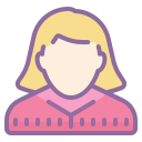 Female Person Silhouette icon