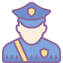 Policeman Male icon
