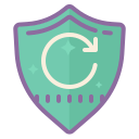 Refresh Shield icon