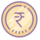 Rupee Indian icon