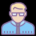 Directeur d'école Homme Type de peau 3 icon