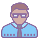 School Director Male Skin Type 5 icon