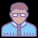 Directeur d'école Homme Type de peau 5 icon