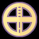 太阳能十字架 icon