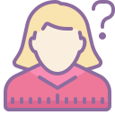 Woman With a Question Mark icon