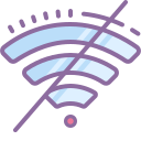 Wi-Fi off icon