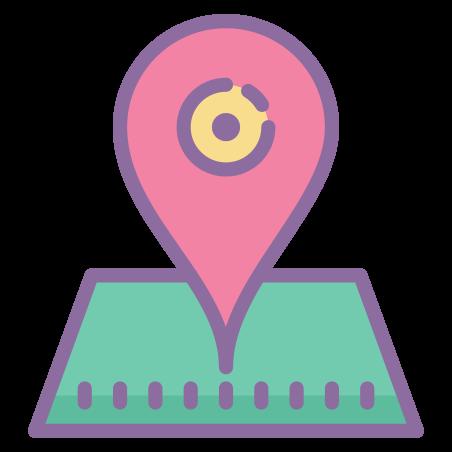 Address icon in Cute Color