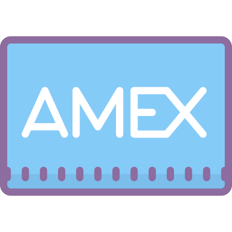 American Express icon in Cute Color