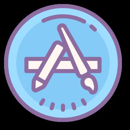 App Store icon in Cute Color