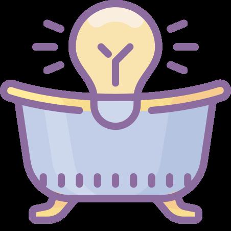 목욕 라이트 icon