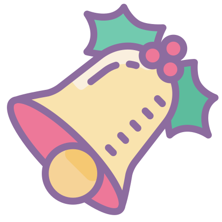 Bell icon in Cute Color