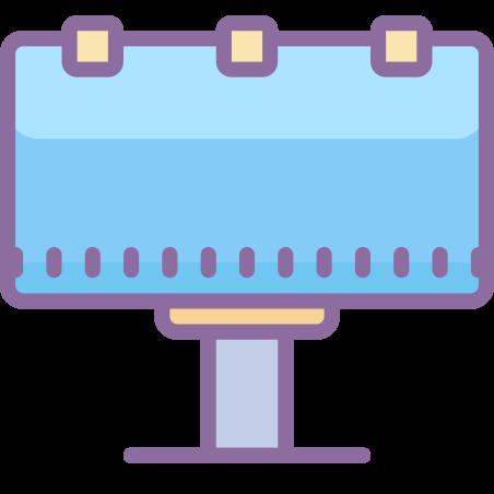 광고 게시판 icon in Cute Color