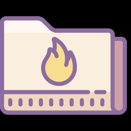 굽기 폴더 icon