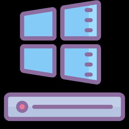 C Drive icon in Cute Color