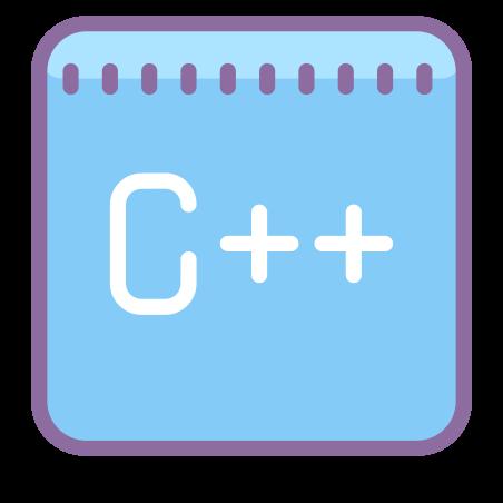 C 플러스 플러스 icon in Cute Color