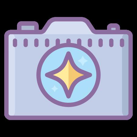 Camera Enhance icon in Cute Color