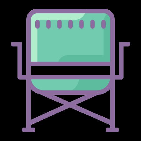 캠핑 의자 icon