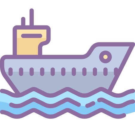 Barco de carga icon