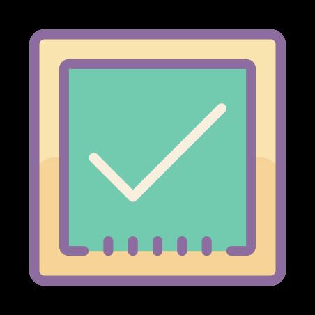검사 확인란 icon