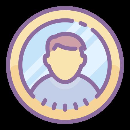 Circled User Male Skin Type 7 icon