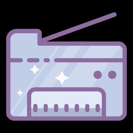 Copy Machine icon in Cute Color