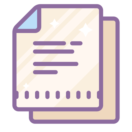 Documents icon in Cute Color