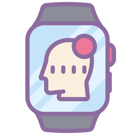 Montre épilepsie intelligente icon