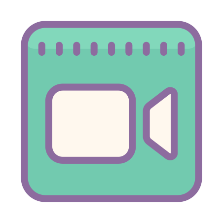 FaceTime icon in Cute Color