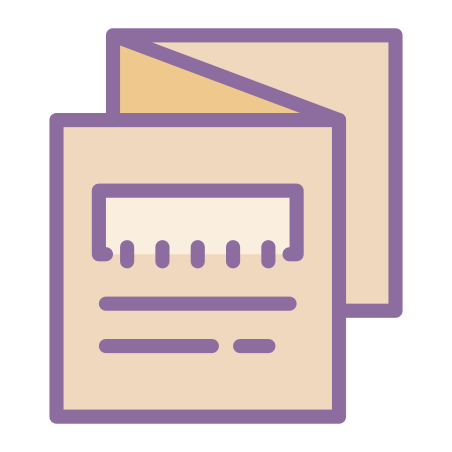 Folded Booklet icon