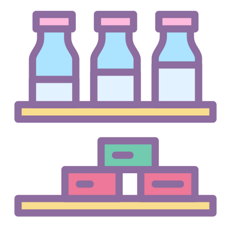 Grocery Shelf icon