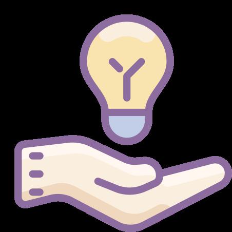 Idea Sharing icon in Cute Color