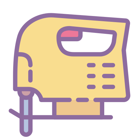 Jigsaw icon in Cute Color