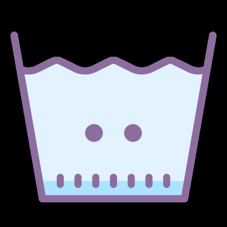 Machine Wash Warm icon