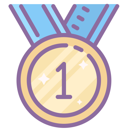 Medal First Place Icon - Free Download, PNG and Vector