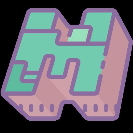 마인 크래프트 로고 icon