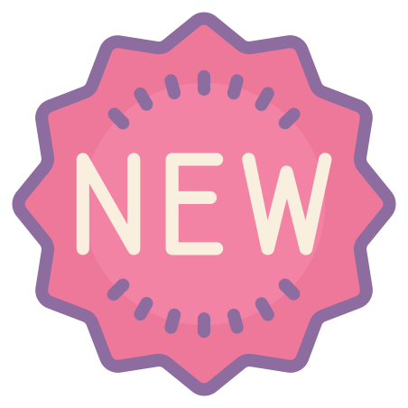 New icon in Cute Color