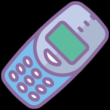 Nokia 3310 icon in Cute Color