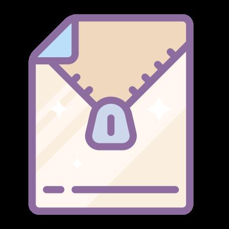 Open Archive icon in Cute Color