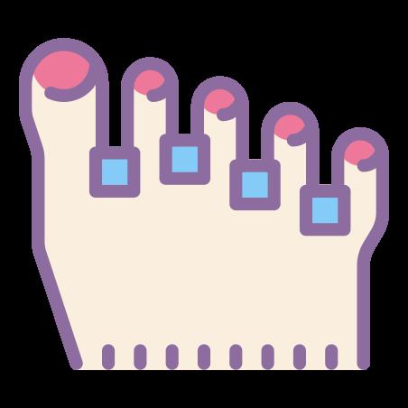 페디큐어 icon in Cute Color