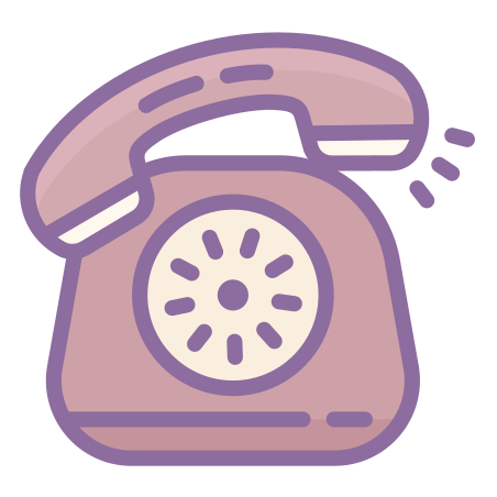 울리는 전화 icon
