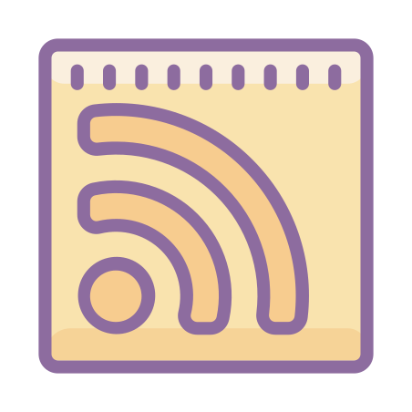 RSS icon in Cute Color
