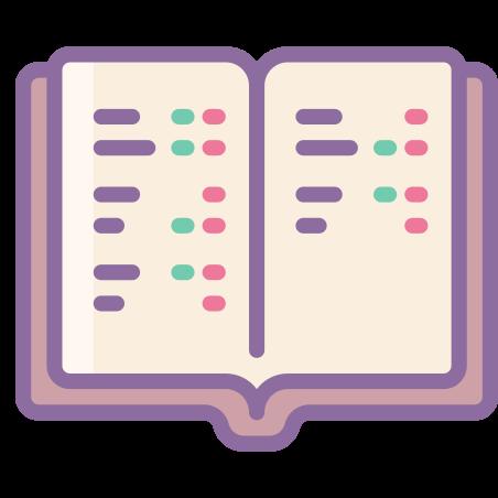 Study icon in Cute Color