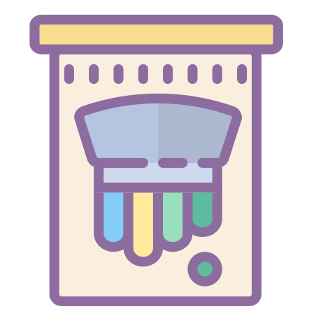 Screen Printing icon in Cute Color