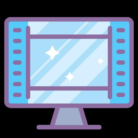 Affichage des cadres vidéo icon